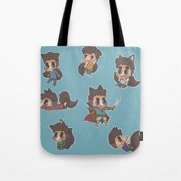 Mini Derek's Everywhere! Tote Bag