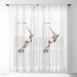 New Zealand Sheer Curtain