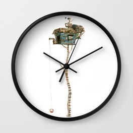 A View from the Top Wall Clock