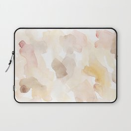 Muted Summer - Abstract Watercolor Art Laptop Sleeve