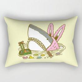 The Easter Shark Rectangular Pillow