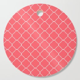 Coral Red Moroccan Cutting Board