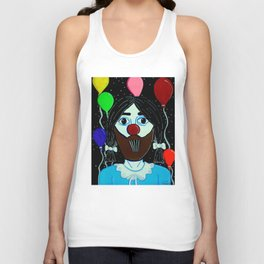 lucy the clown Unisex Tank Top