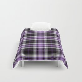 Purple Plaid Comforters
