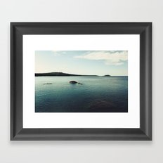 Lake Superior Landscape Framed Art Print