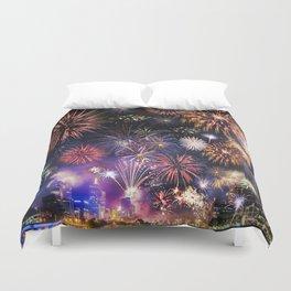 Fabulous Fireworks Duvet Cover
