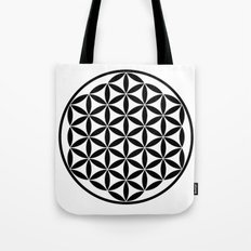 Pure Energy The Flower of Life Tote Bag