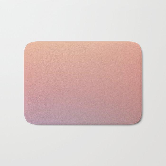 AFTER THOUGHTS - Minimal Plain Soft Mood Color Blend Prints Bath Mat