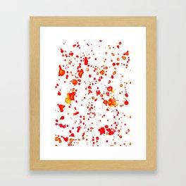 Watercolor series #D5 Framed Art Print