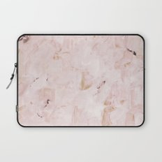 abstract-soft pink Laptop Sleeve