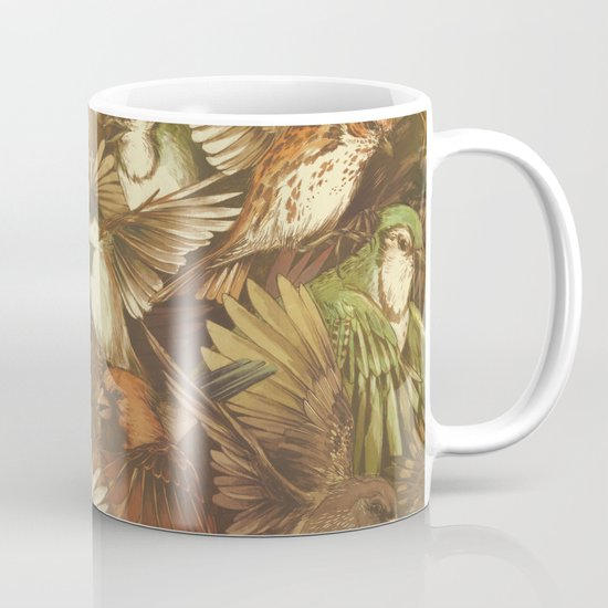 Red-Throated, Black-capped, Spotted, Barred Mug