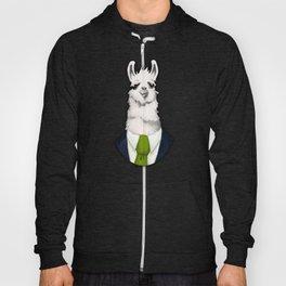 Formal Llama - Green Hoody