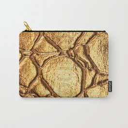 Golden tortoise shell Carry-All Pouch