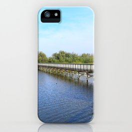 Lake front iPhone Case