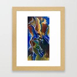 Good Luck Series: A vibrant glory Framed Art Print