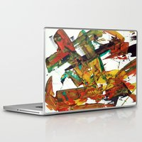 fight Laptop & iPad Skins featuring Fight by Dana Krystle