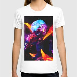 Neon bright Ghoul T-shirt
