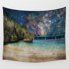 Get Up and Go Wall Tapestry