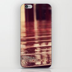 Rain Drops iPhone & iPod Skin