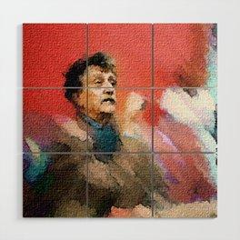 You Are Not Alone -- Kurt Vonnegut Wood Wall Art
