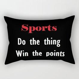 Sports Rectangular Pillow