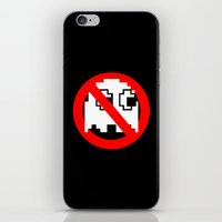ghostbusters iPhone & iPod Skins featuring Pacman Ghostbusters by dutyfreak