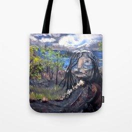 Native Path Tote Bag