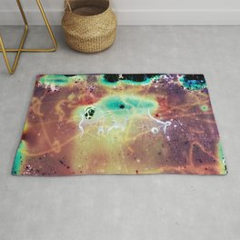"""""""It's a bug in my head."""" Analog. Film photography Rug"""