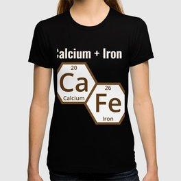 Calcium + Iron CA FE T-shirt