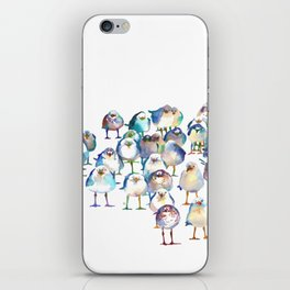 Winter Birds iPhone Skin