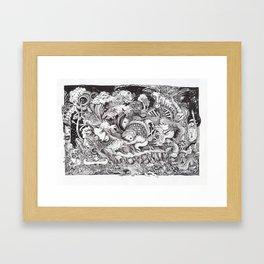 Jungle Book Series Framed Art Print