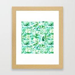Abstract Jungle Framed Art Print