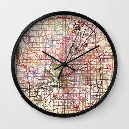 Indianapolis Wall Clock