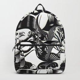 M. C. Escher - illusion Backpack