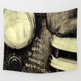 One Headlight  Wall Tapestry