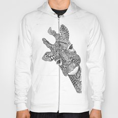 Zentangle Giraffe Hoody
