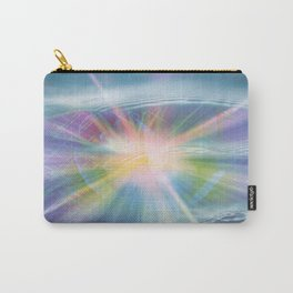 Swirls Of Light And Water Abstract Carry-All Pouch