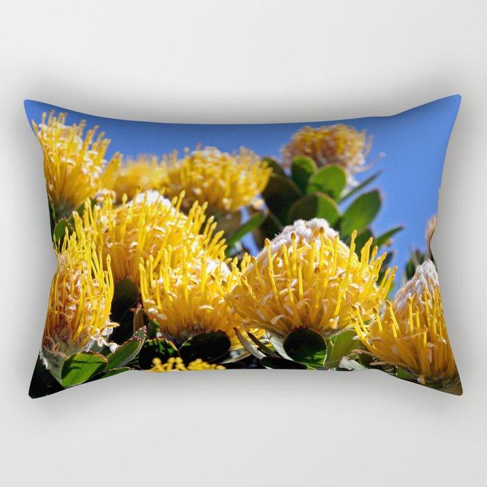 Beautiful Protea in South Africa Rectangular Pillow
