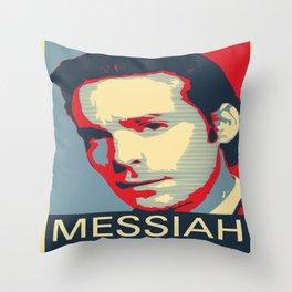 Baltar 'Messiah' design. Inspired by Battlestar Galactica. Throw Pillow