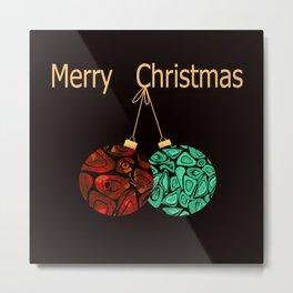 Christmas gift. Metal Print
