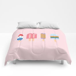 Popsicle - Four Pack Pink #267 Comforters