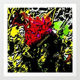 I am a rose II Art Print