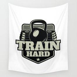 Train Hard Wall Tapestry