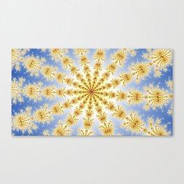 Fractal Convergence Canvas Print