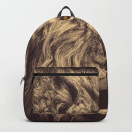 The Lion Backpack