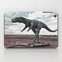 dino iPad Cases featuring Dino by Nick Douillard