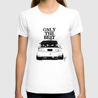 "honda T-shirts featuring ONLY THE BEST ""HONDA"" by Consuelo Castaneda"