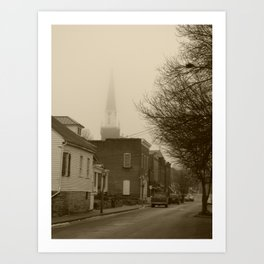 Ghost Church II Art Print
