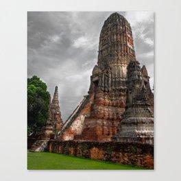 Wat Chaiwatthanaram Canvas Print