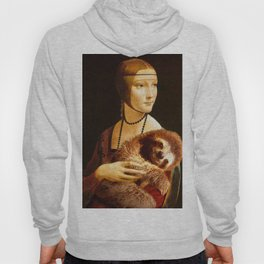 Lady with a Sloth Hoody